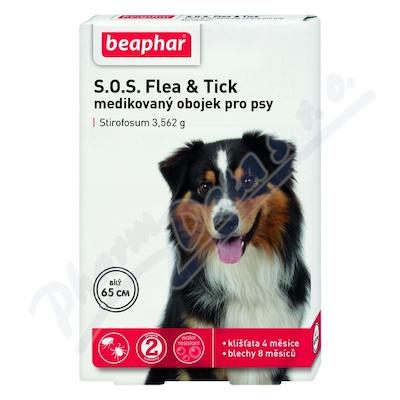 SOS Flea and Tick 3.562g obojek pro psy 70cm