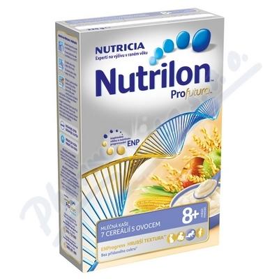 Nutrilon Profutura mléčná kaše 7cereálií ovoce 225g 8M