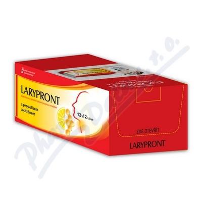 Larypront s propolisem a citónem 12x12 tablet