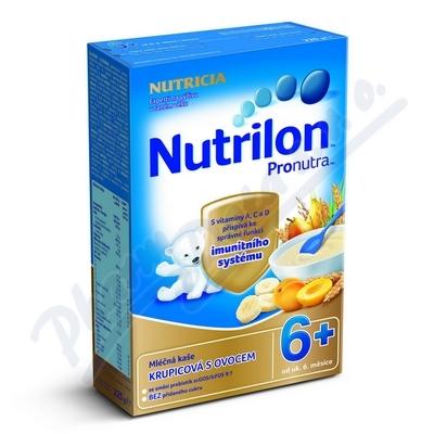 Nutrilon Pronutra kaše mléčná ovocná 225g 6M