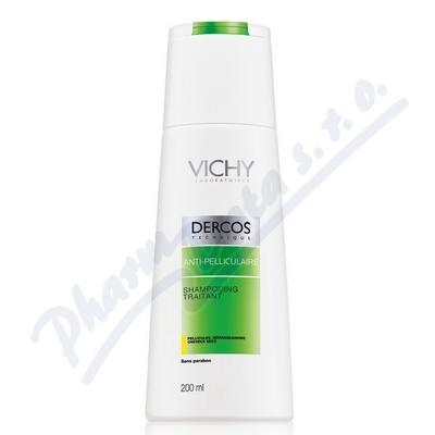 VICHY Dercos šampon lupy suché 200ml k nákupu nad 690,- taštička zdarma