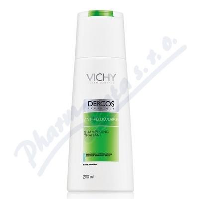 VICHY Dercos šampón lupy mastné 200ml k nákupu nad 690,- taštička zdarma