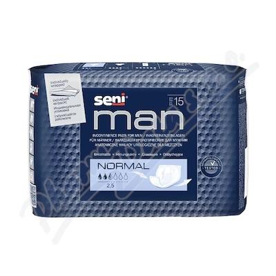 Seni Man Normal 15 ks inkontinenční pomůcky