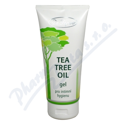 Tea Tree Oil gel pro intimní hygienu Dr.Popov 200ml