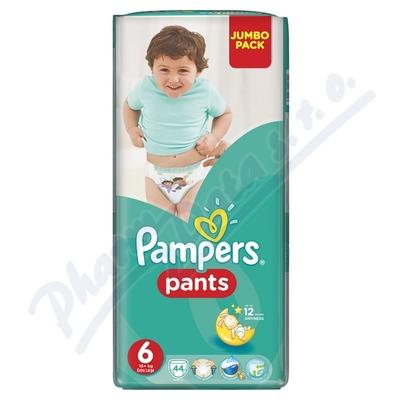 Pampers kalhotkové plenky Jumbo Pack S6 44ks