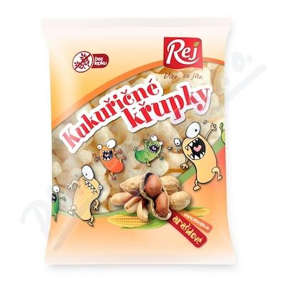 Křupky kukuřičné arašídové 90g