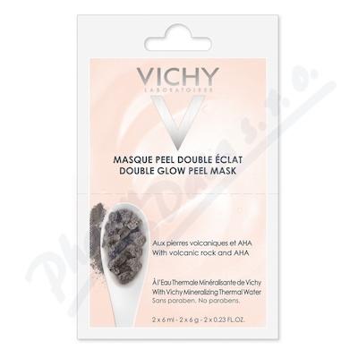 VICHY Rozjasňující peelingová maska BOX 2x6 ml k nákupu nad 690,- taštička zdarma