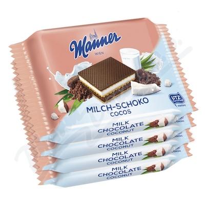 Manner Milch-Schoko Cocos 4x25g