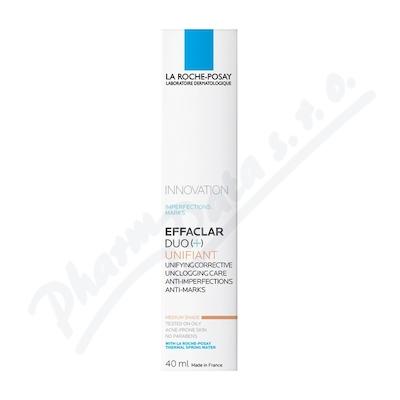 LA ROCHE-POSAY Effaclar DUO+ Tinted medium 40 ml při nákupu 2 produktů 25% sleva se slevovým kódem laroche25