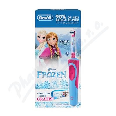 Oral-B Elektrický kartáček Vitality dětský Frozen + penál