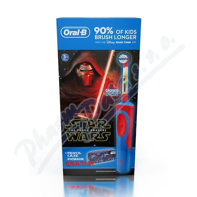 Oral-B Elektrický kartáček Vitality dětský Star Wars + penál