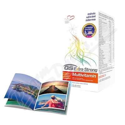 GS Extra Strong Multivitamin tbl.60+30 2017