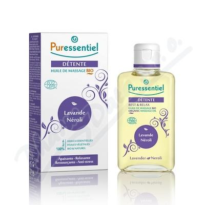 Nejlevnější PURESSENTIEL Masážní olej BIO pro uvolnění 100 ml bb4e3c5805