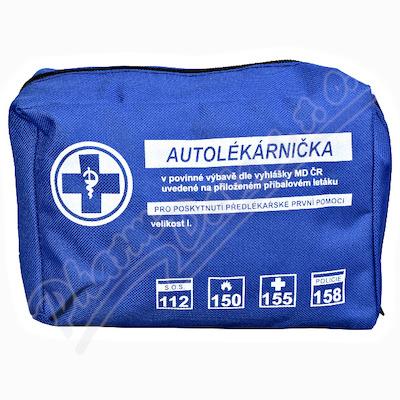 Autolékárnička textil vyhl. č. 341/2014 Steriwund